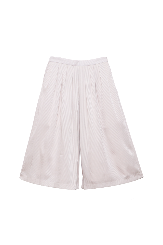 Wide Leg Ivory Culottes Bottom