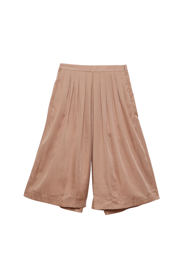Wide Leg Cappuccino Culottes Bottom