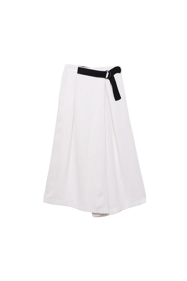 Wrap Culottes Eggshell Pants Bottom