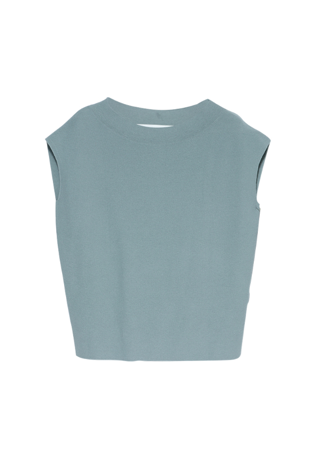 Link Stitch Cocoon Knitted Top